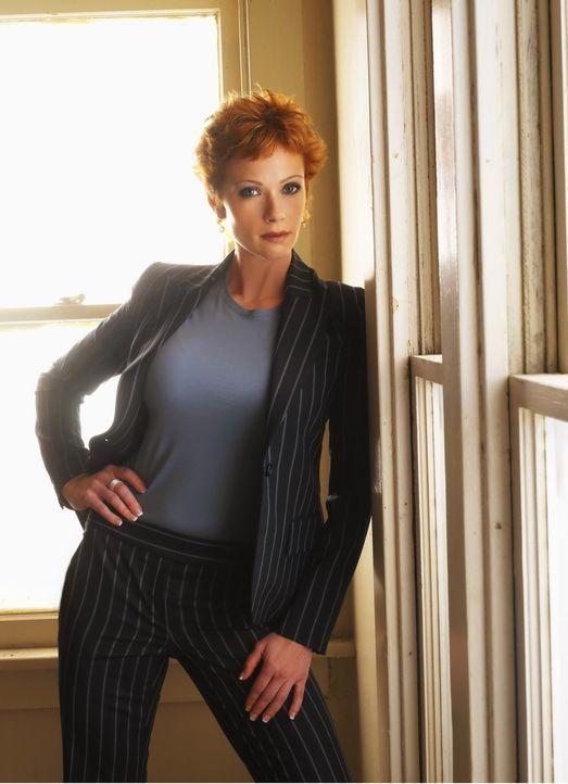 (3. Staffel) - Neue Direktorin Naval Criminal Investigation Service: Jenny Shepard (Lauren Holly) ... - Bildquelle: CBS Television