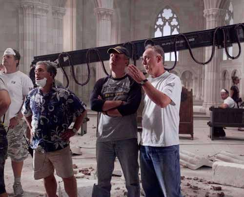 "Dreharbeiten zu ""Die Säulen der Erde"" - Bildquelle: Egon_Endrenyi_-_Tandem_Productions_-_Pillars_Productions"