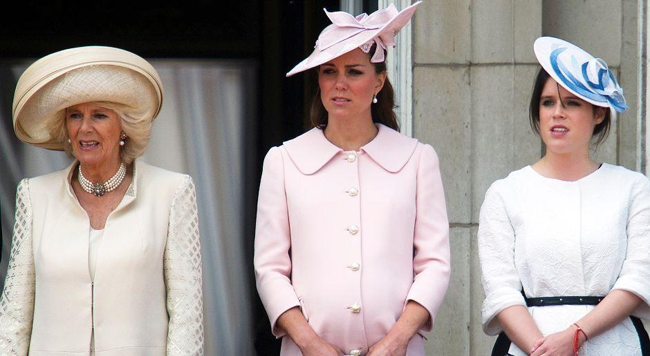 Camilla-Duchess-Catherine-Eugenie-13-06-15-AFP - Bildquelle: AFP ImageForum