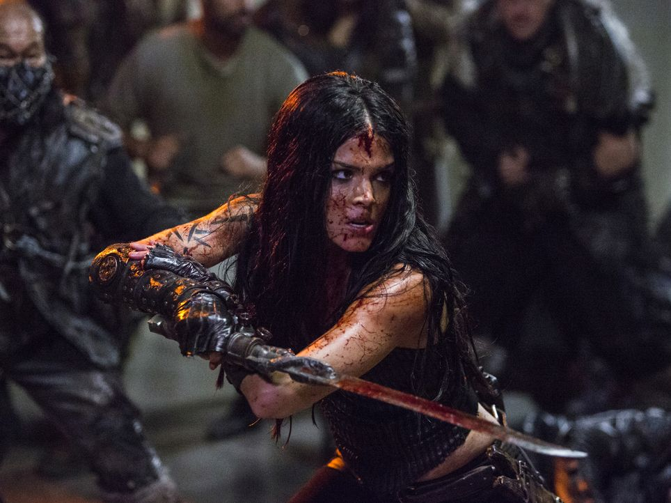 Octavia (Marie Avgeropoulos) - Bildquelle: Michael Courtney 2018 The CW Network, LLC. All rights reserved./Michael Courtney
