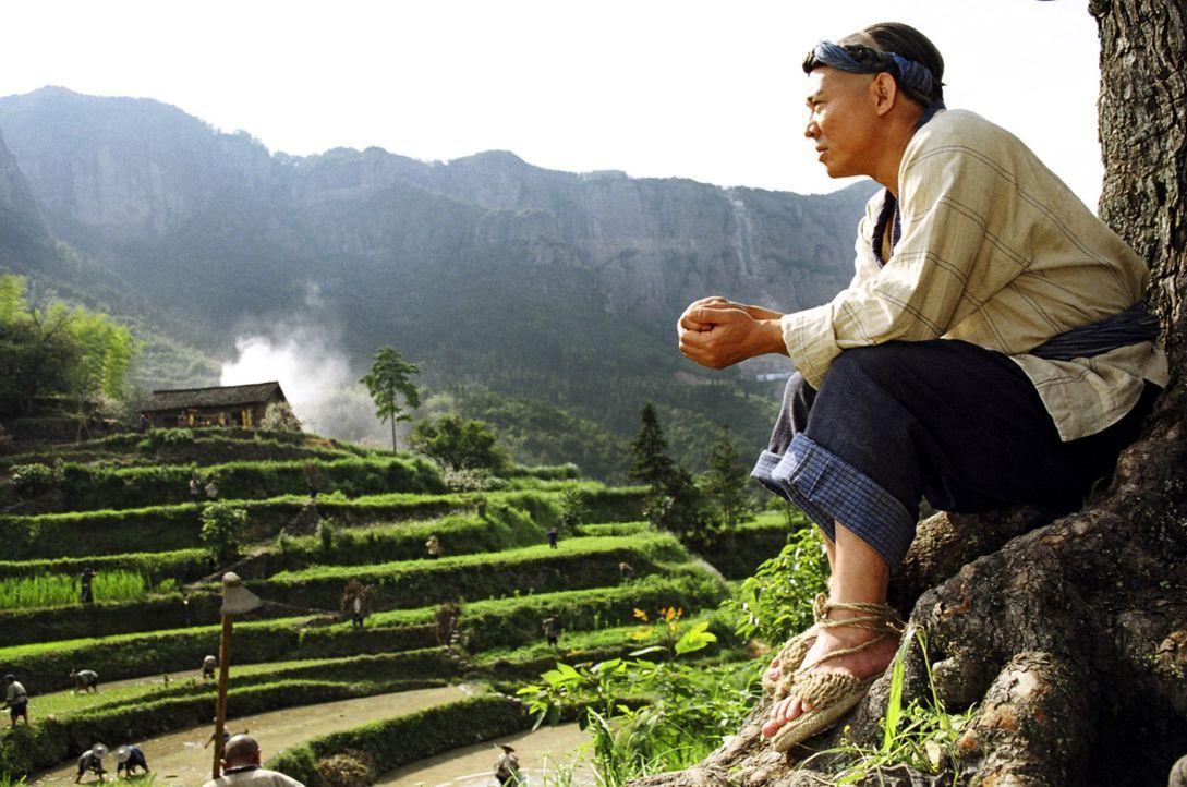 Nach seinem Weggang aus seinem Heimatdorf Tianjin versucht Huo Yuanjia (Jet Li) in einem Bergdorf die Vergangenheit zu vergessen, und beschließt se... - Bildquelle: Constantin Film Verleih GmbH