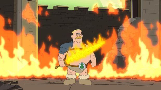 Brickleberry - Ein neuer Ranger wird gebraucht - Woody bastelt daher das sein...