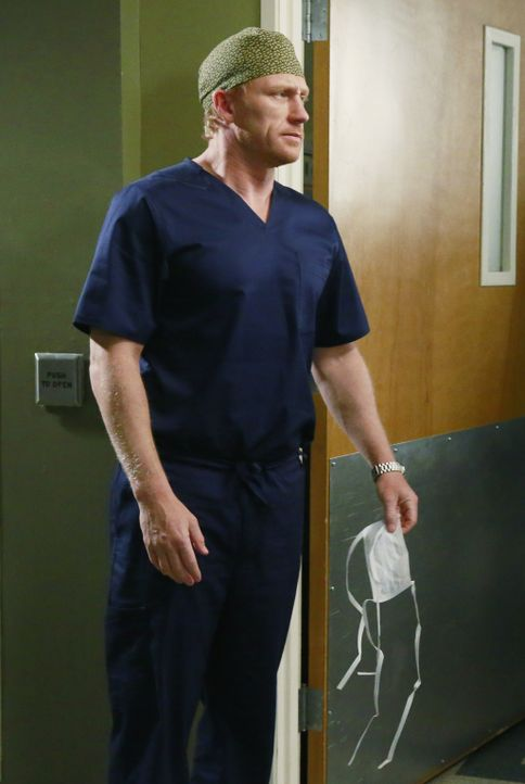 Muss feststellen, dass seine Mutter einen Freund in seinem Alter hat: Owen (Kevin McKidd) ... - Bildquelle: ABC Studios
