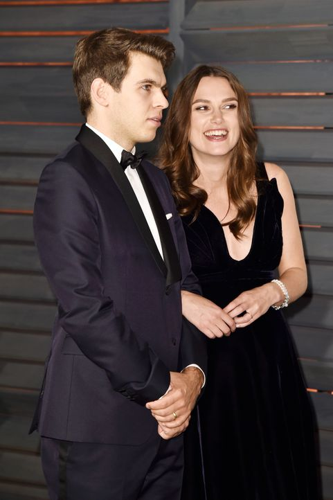 Oscars-Vanity-Fair-Party-James-Righton-Keira-Knightley-150222-getty-AFP - Bildquelle: getty-AFP