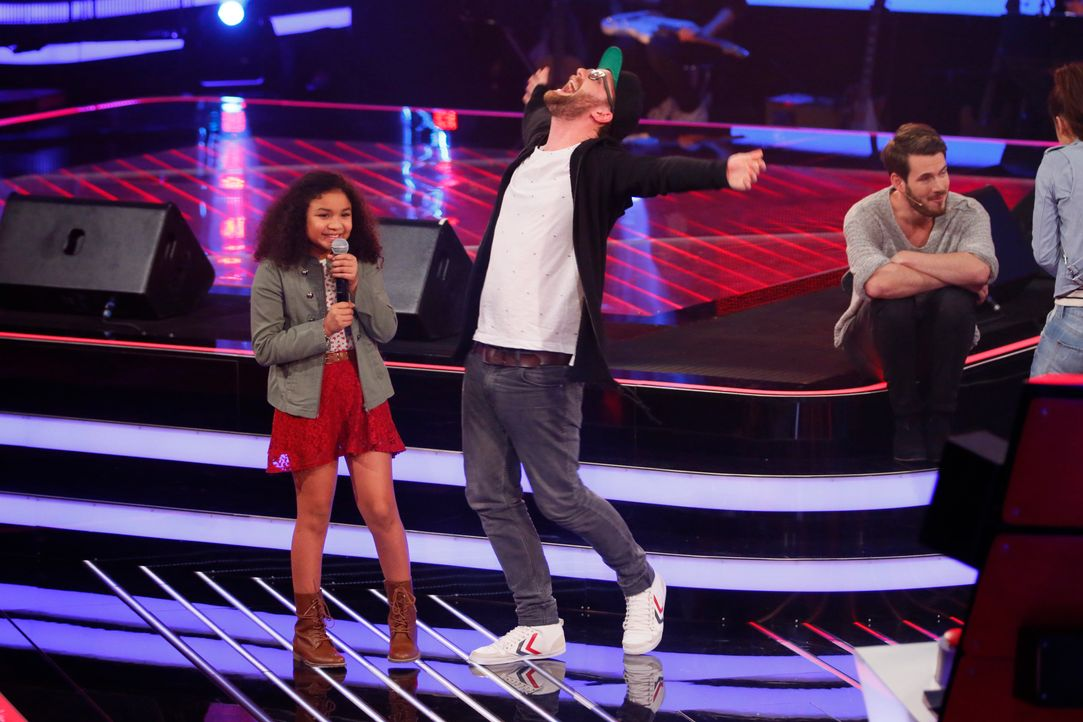 The-Voice-Kids-s03e01-danach-Zoe-10 - Bildquelle: SAT.1/ Richard Hübner