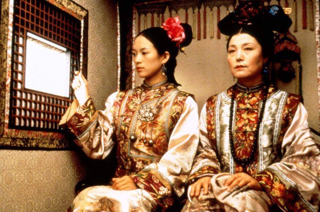 Der intriganten Gouvernante Jade Fox (Cheng Pei Pei, r.) gelingt es, ihren jungen Schützling Jen Yu (Zhang Ziyi, l.) für ein unlauteres Spiel zu m... - Bildquelle: ARTHAUS Filmverleih