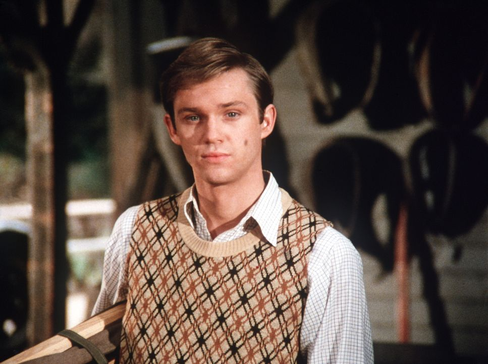John-Boy (Richard Thomas) hat über das Wochenende den genialen Lyle Thomason mit nach Hause gebracht, der ihm Nachhilfe geben soll. Aber sein Profes... - Bildquelle: WARNER BROS. INTERNATIONAL TELEVISION
