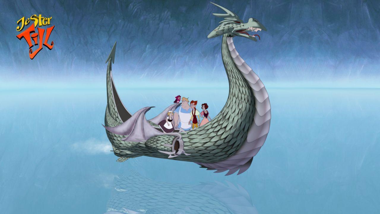 Wähernd der Rettung seines Großvaters Marcus, müssen Till Eulenspiegel und seine Freunde viele Abenteuer bestehen ? - Bildquelle: Capella Films International