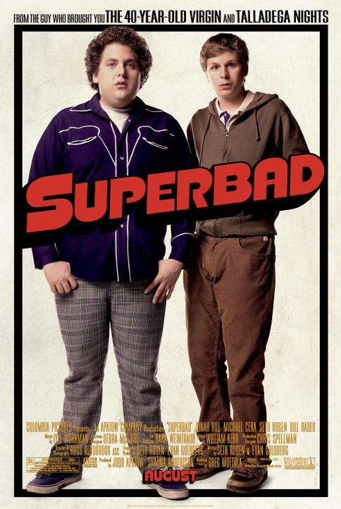 SUPER BAD - Plakatmotiv - Bildquelle: 2008 CPT Holdings, Inc. All Rights Reserved. (Sony Pictures Television International)
