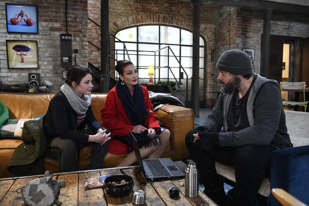 (v.l.n.r.) Jenni (Anna Mennicken); Melissa (Tanja Wenzel); Daniel (Raphael Vogt) - Bildquelle: Christoph Assmann SAT.1/Christoph Assmann