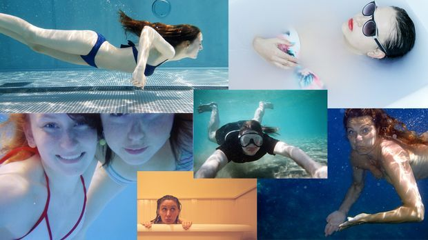 Aktion: Brustschwimmen gegen Brustkrebs