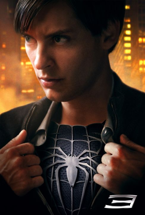 Spider-Man 3 - Artwork - Tobey Maguire - Bildquelle: 2007 Marvel Characters, Inc.  2007 CPII. All Rights Reserved.