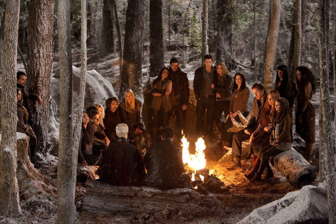 Die Cullens und ihre Verbündeten - Bildquelle: 2012 Summit Entertainment, LLC. All rights reserved.