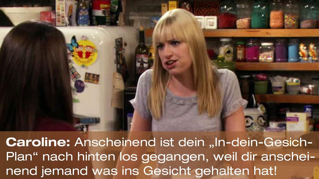 2-broke-girls-zitat-quote-staffel2-episode10-grosse-eroeffnung-caroline-plan-warnerpng 1600 x 900 - Bildquelle: Warner Bros. International Television