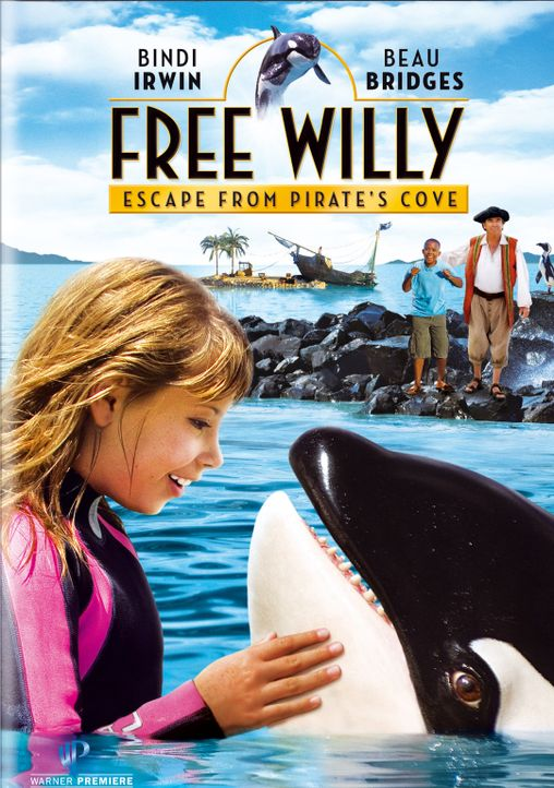 FREE WILLY: ESCAPE FROM PIRATE'S COVE - Plakatmotiv - Bildquelle: 2009 Warner Brothers