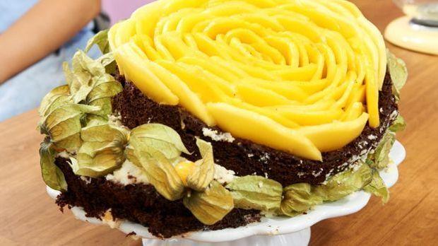 "Naked Cake – Wetits ""Brown & White"