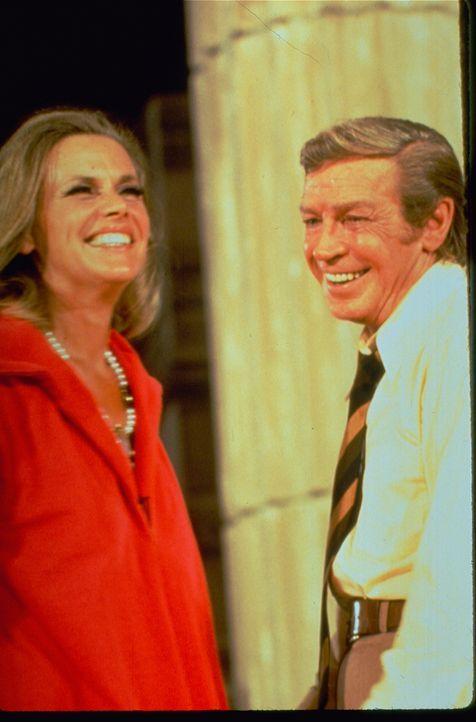 (v.l.n.r.) Lillian Stanhope (Honor Blackman); Nicholas Frame (Richard Basehart) - Bildquelle: 1972 Universal City Studios LLLP. All Rights Reserved.