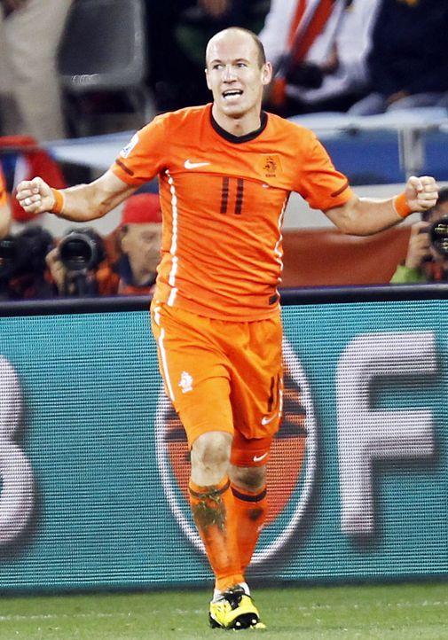 Arjen-Robben-10-07-06-AFP - Bildquelle: AFP