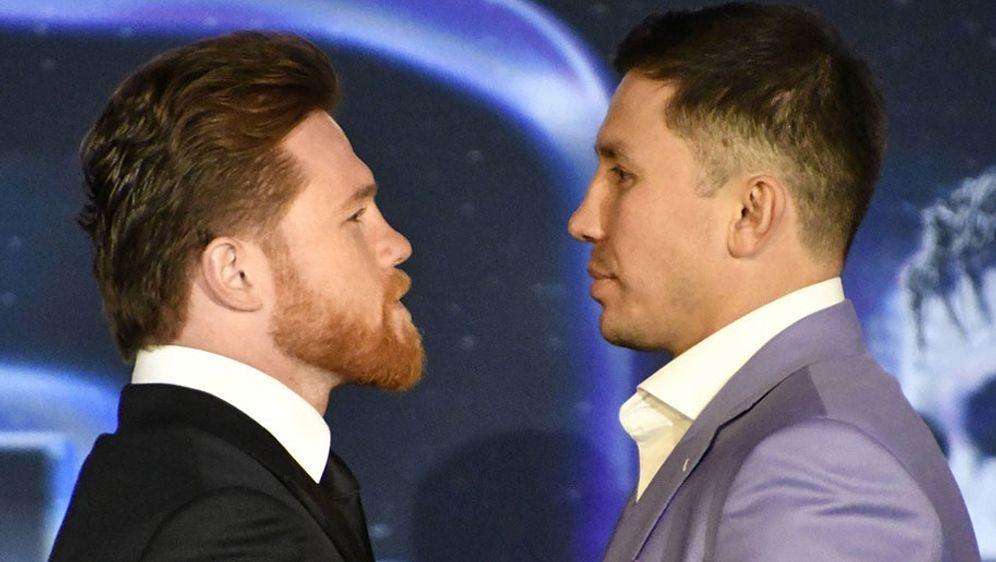 Der Kampf zwischen Alvarez und Golovkin soll am 5. Mai in Las Vegas steigen. - Bildquelle: 2018 imago