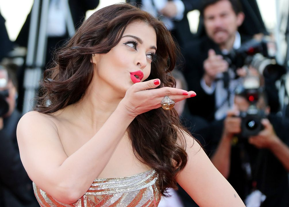 Cannes-Filmfestival-Aishwarya-Rai-Bachchan-140520-AFP - Bildquelle: AFP