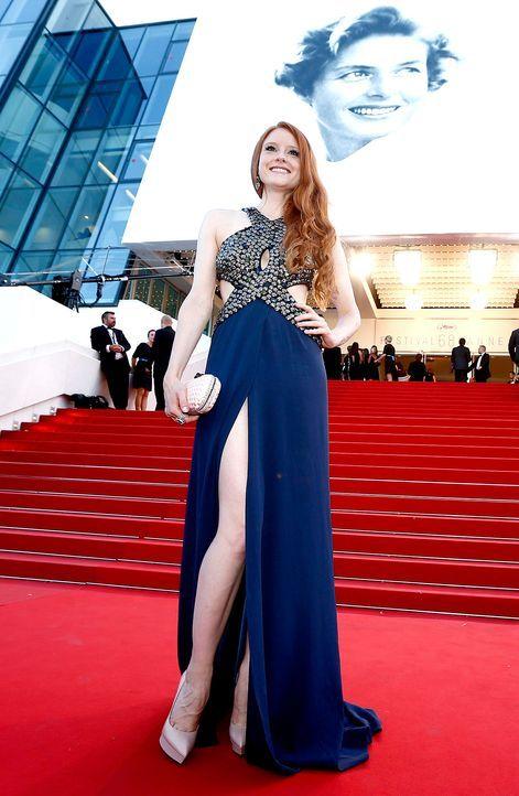 Cannes-Film-Festival-Barbara-Meier-150518-07-dpa - Bildquelle: dpa