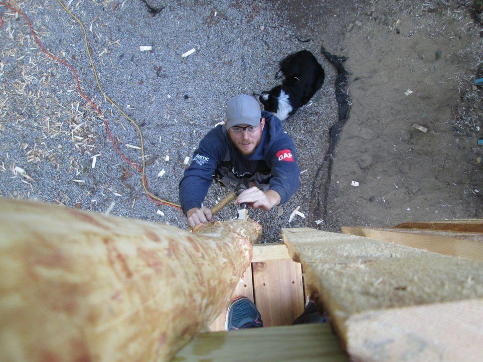 Dieses Mal kreieren die Treehouse Guys ein ganz besonderes Baumhaus für ganz besondere Kinder in Worcester. Die Schwierigkeit besteht darin, dass de... - Bildquelle: 2016, DIY Network/Scripps Networks, LLC. All Rights Reserved.