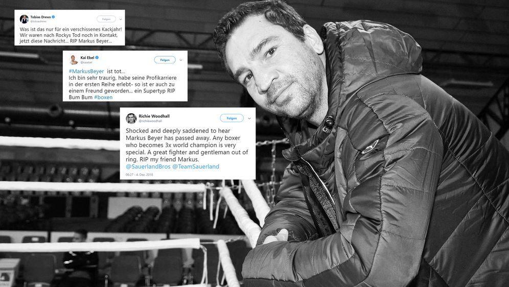 Trauer im Internet: Prominente und Fans gedenken dem verstorbenen Ex-Boxwelt... - Bildquelle: imago, Twitter