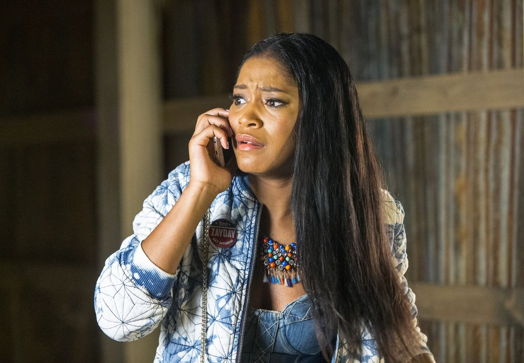 Auf der Suche nach einer perfekten Location für ihre Halloween-Fundraising-Party entdeckt Zayday (Keke Palmer) ein Spuk-Haus, dass einige gruselige... - Bildquelle: 2015 Fox and its related entities.  All rights reserved.
