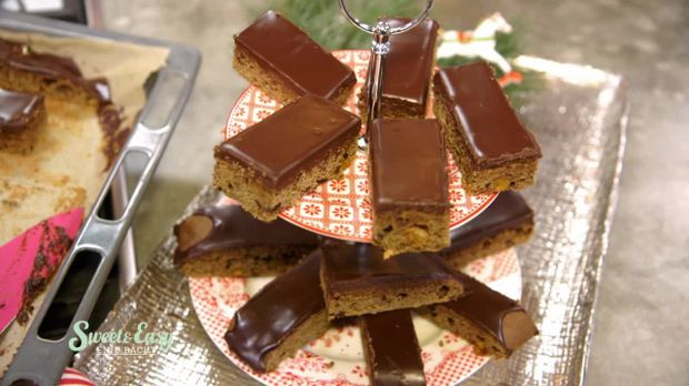 Lebkuchen Vom Blech Saftig Und Schokoladig