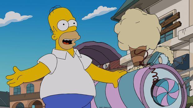 Zum zehnten Hochzeitstag hat Homer für seine Frau eine ganz besondere Überras...