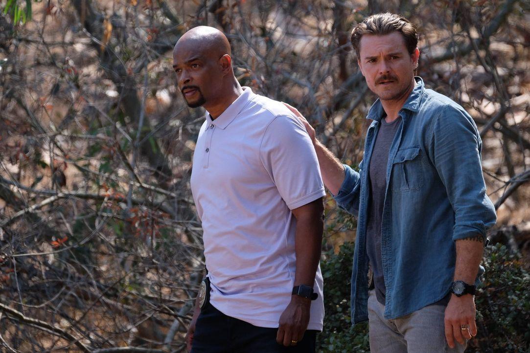 Ein neuer Fall wartet auf die beiden Cops Murtaugh (Damon Wayans, l.) und Riggs (Clayne Crawford, r.) ... - Bildquelle: 2016 Warner Brothers