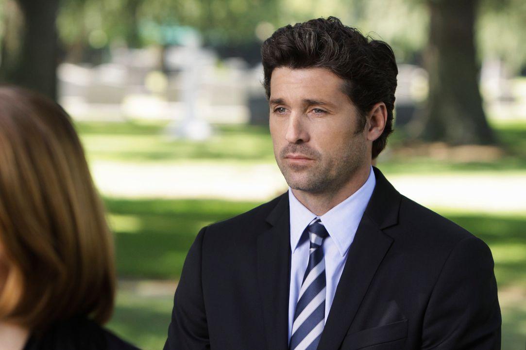 Nimmt an der Trauerfeier für George teil: Derek (Patrick Dempsey) ... - Bildquelle: Touchstone Television