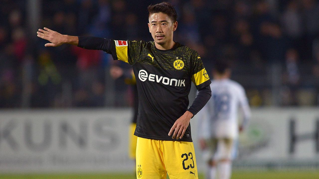 Shinji Kagawa (Borussia Dortmund) - Bildquelle: imago/DeFodi