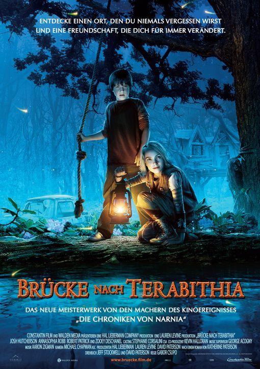 Brücke nach Terabithia - Plakatmotiv - Bildquelle: 2007 Constantin Film, München