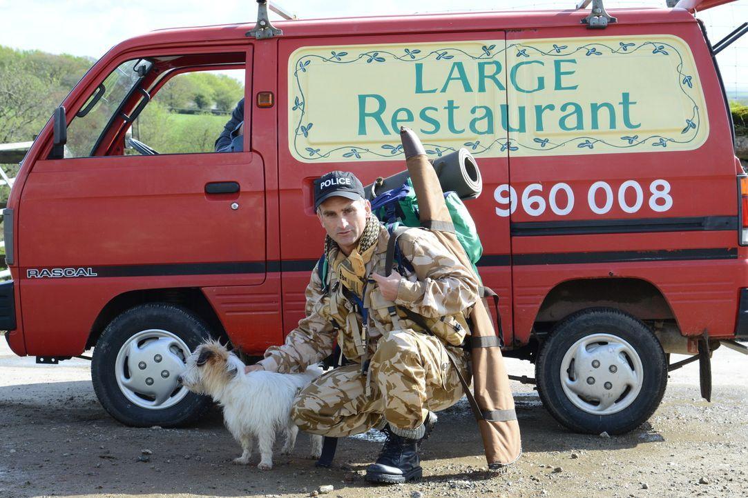 Um in eine Eliteeinheit der Polizei aufgenommen zu werden, nimmt Constabler Pennhale (John Marquez) an einem Survivaltraining teil - mit fatalen Fol... - Bildquelle: BUFFALO PICTURES/ITV