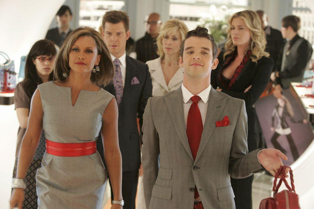 Wilhelmina (Vanessa Williams, l.) und Marc (Michael Urie, r.) kehren zurück - und sorgen sogleich für Unruhe ... - Bildquelle: Buena Vista International Television