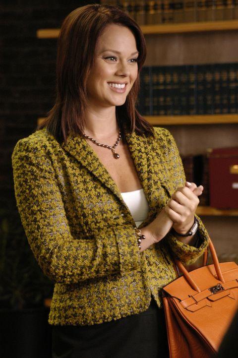 Macht Deb beziehungsweise Jane, das Leben in der Kanzlei nicht leicht: Kim (Kate Levering) ... - Bildquelle: 2009 Sony Pictures Television Inc. All Rights Reserved.