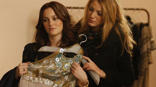 Serena (Blake Lively, r.) meint, dass Blair (Leighton Meester, l.) ihren Freu...