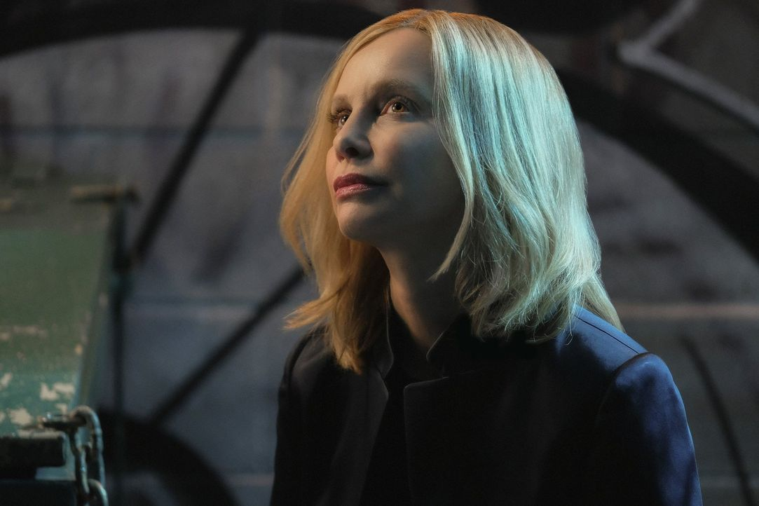 Taucht wieder in National City auf: Cat Grant (Calista Flockhart) ... - Bildquelle: 2016 Warner Brothers