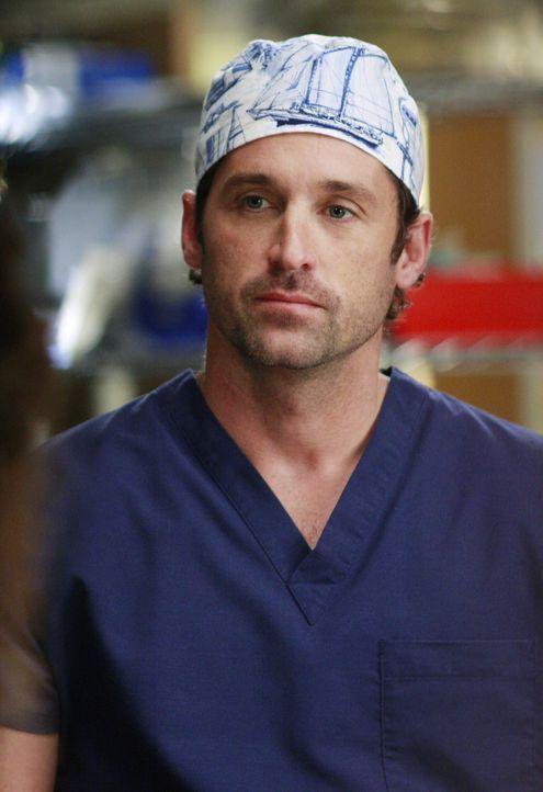 """Die Nachricht, dass das """"Seattle Grace"""" nur auf Platz zwölf der landesweiten Rangliste aller Lehrkrankenhäuser ist, ist für Derek (Patrick Dempsey)... - Bildquelle: Touchstone Television"""