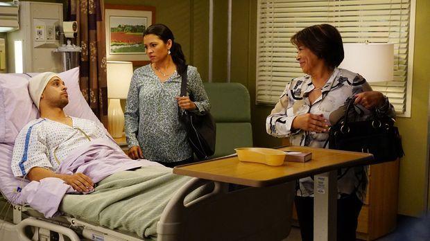 Während Meredith Amelia Vorwürfe macht, gerät Stephanie mit Klyes (Wilmer Val...
