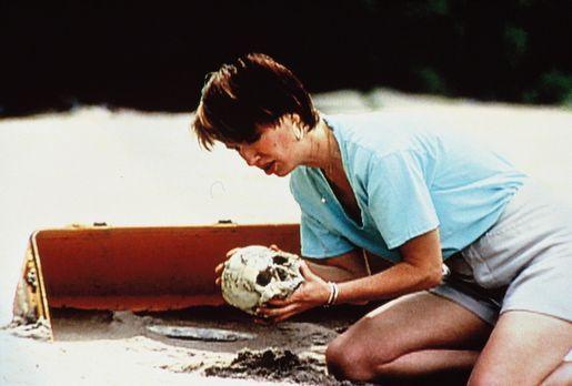 Eines Tages findet eine Urlauberin menschliche Knochen auf einer verlassenen...