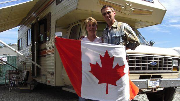 Dirk Klein (49) und seine Frau Silvia (45) aus dem oberbayerischen Peiting wa...