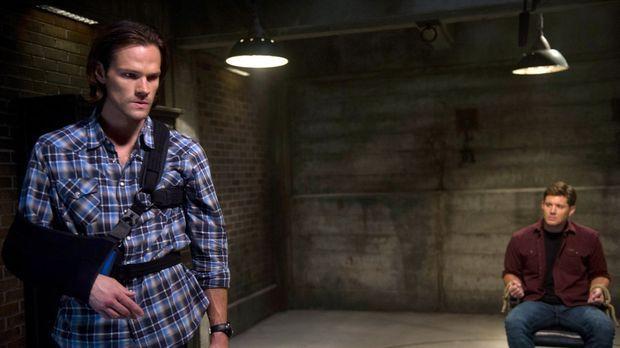 Sam (Jared Padalecki, l.) setzt alles daran, Dean (Jensen Ackles, r.) von sei...