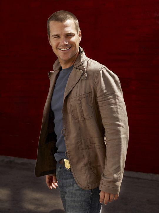 (1. Staffel) - Ist ein wahrer Identitätskünstler, der sich in jede Rolle hineinversetzen kann: Special Agent G. Callen (Chris O'Donnell) ... - Bildquelle: CBS Studios Inc. All Rights Reserved.