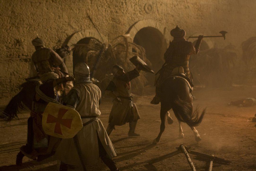 Ende des 13. Jahrhunderts: Die Kreuzzüge stehen vor ihrem Ende, die christlichen Kämpfer kurz vor der Niederlage. Eine kleine Gruppe jedoch hält sta... - Bildquelle: 2008 Templar Productions (Muse) Inc. All Rights Reserved