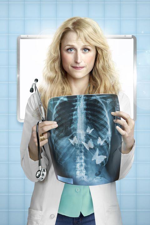 (1. Staffel) - Muss in ihrem Job als frischgebackene Assistenzärztin erkennen, dass das Leben nicht besser ist, als an der Highschool: Emily Owens... - Bildquelle: 2012 The CW Network, LLC. All rights reserved.