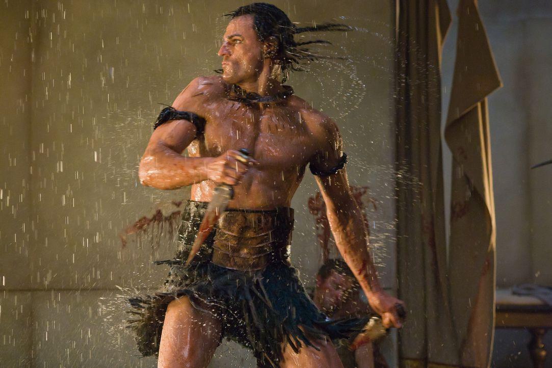 """Soll Spartacus den Garaus machen: """"Der Ägypter"""" (Steven Dunlevy) ... - Bildquelle: 2011 Starz Entertainment, LLC. All rights reserved."""