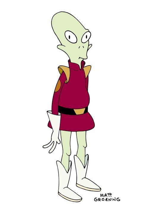 (4. Staffel) - Kiff K. ist Zapps außerirdisch intelligenter Laufbursche. - Bildquelle: und TM Twenthieth Century Fox Film Corporation - Alle Rechte vorbehalten