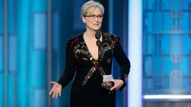 Meryl Streep bei den Golden Globes 2017